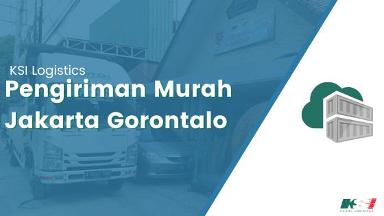 Pengiriman Barang Jakarta Gorontalo